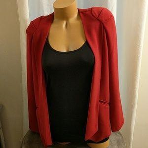 Tobi red blazer